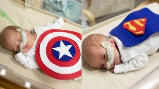 Bimbi nati prematuri diventano supereroi: la bella idea di un ospedale