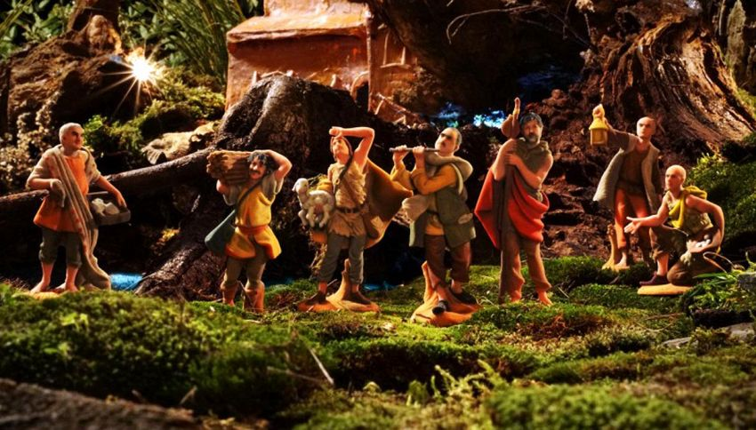Elio e le Storie Tese diventano statuine per il presepe di Natale