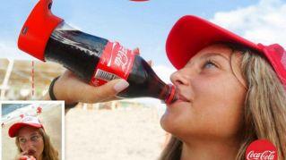 Coca Cola presenta la bottiglia per i selfie