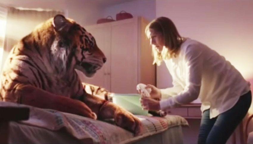 La tigre ferita, lo spot natalizio del WWF che commuove