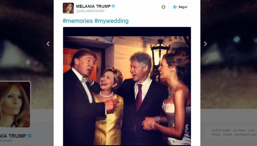 Elezioni presidenziali degli Stati Uniti: Trump-Clinton, c'eravamo tanto amati