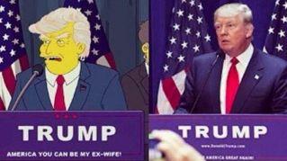 Donald Trump Presidente Usa: i Simpson lo avevano predetto nel 2000