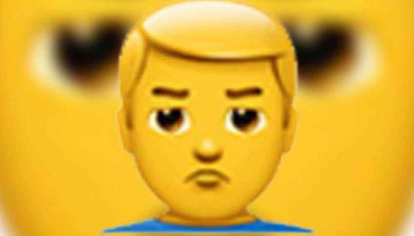 Donald Trump presidente: ecco l'emoji su Whatsapp