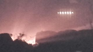 Avvistata nave madre degli alieni: le foto scattate con lo smartphone