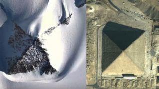 Una misteriosa piramide è stata rinvenuta nell'Antartico