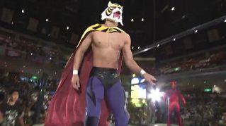 Wrestling, torna l'Uomo Tigre, il Giappone impazzisce