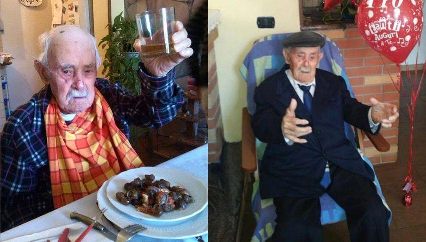 Tziu Mundicu, il nonnino d'Italia, compie 111 anni. Il suo segreto di longevità