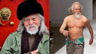 Wang, il nonno modello più sexy del mondo: a 80 anni sfila in passerella
