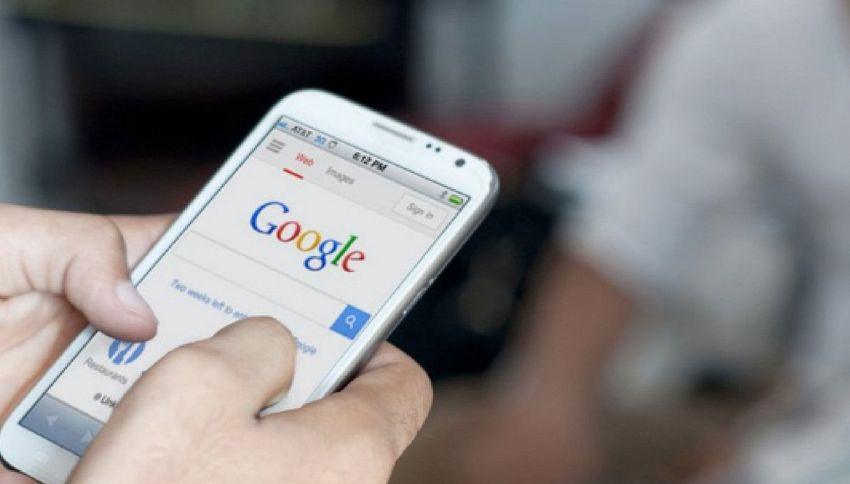 Questo messaggio di Google significa che hai visto troppi porno