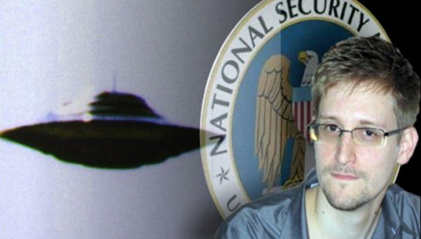 """Edward Snowden:""""Governo USA controllato dagli alieni"""""""