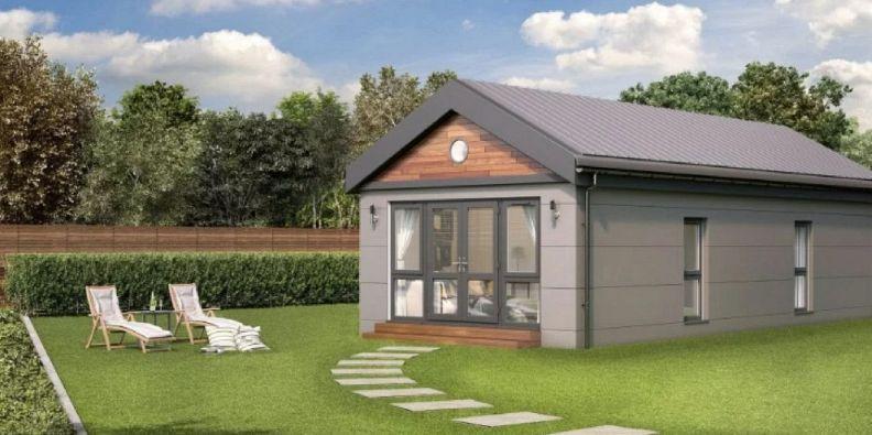 Ecco la casa che si costruisce in 24 ore ed bellissima for Ospitare amici in casa