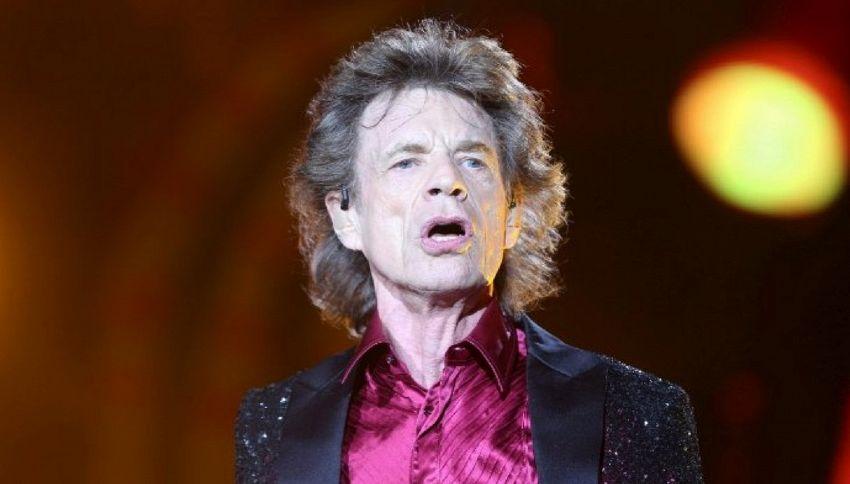 A 73 anni Mick Jagger diventa padre per l'ottava volta