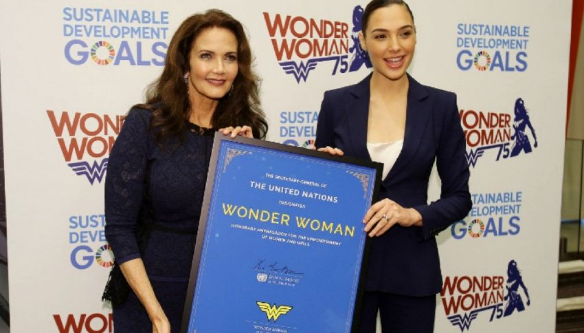 L'Onu licenzia Wonder Woman: è troppo sexy