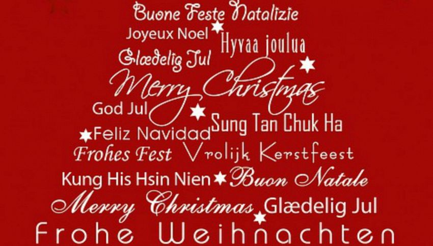 Come si dice Buon Natale in 22 lingue diverse