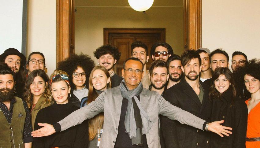 Sanremo: Conti svela i nomi dei Big e delle Nuove Proposte