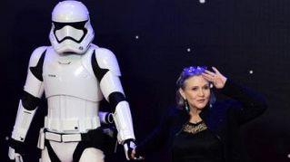 """Carrie Fisher sarà di nuovo la principessa Leila in """"Star Wars"""""""