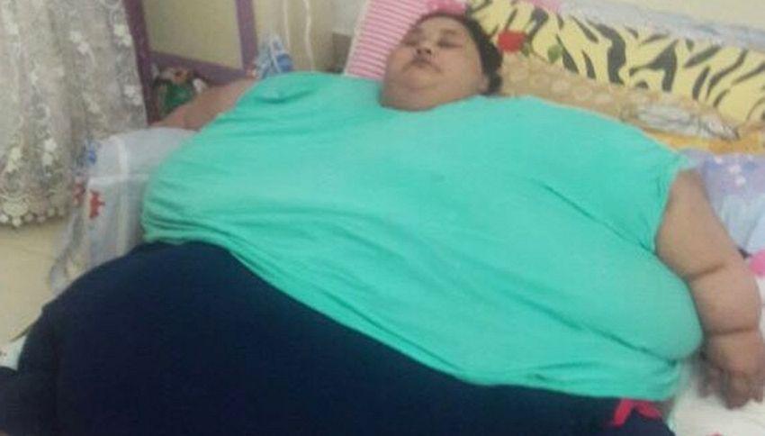 Il web si mobilita per la donna più grassa del mondo