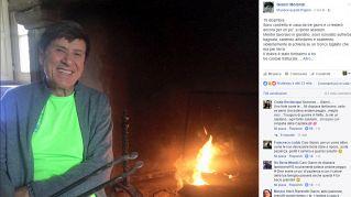 Paura per Gianni Morandi: incidente e tre costole rotte