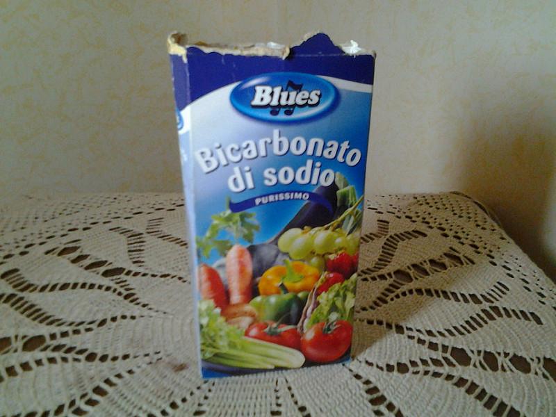 Eliminare i brufoli con il bicarbonato di sodio