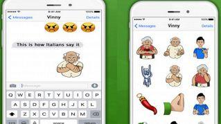 Dal gesto dell'ombrello alle corna, l'app per emoji tutte italiane è sconveniente