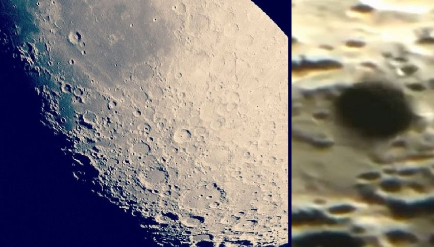 Osservatorio Usa riprende enorme ufo sulla superficie lunare