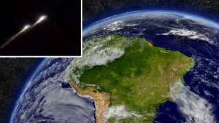 Misteriosa palla di fuoco avvistata nei cieli del Sud America