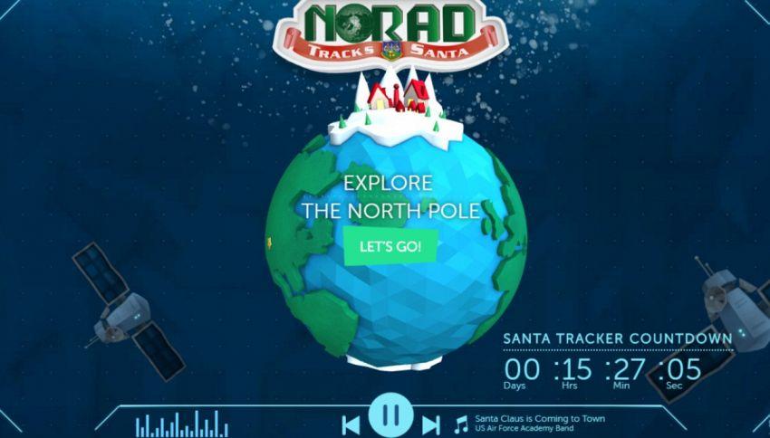 Dov'è Babbo Natale? Seguiamo il suo viaggio natalizio