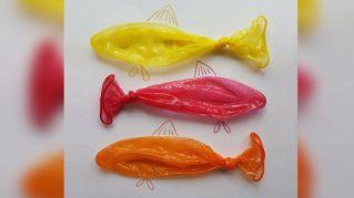 Ecco le opere artistiche con i condom