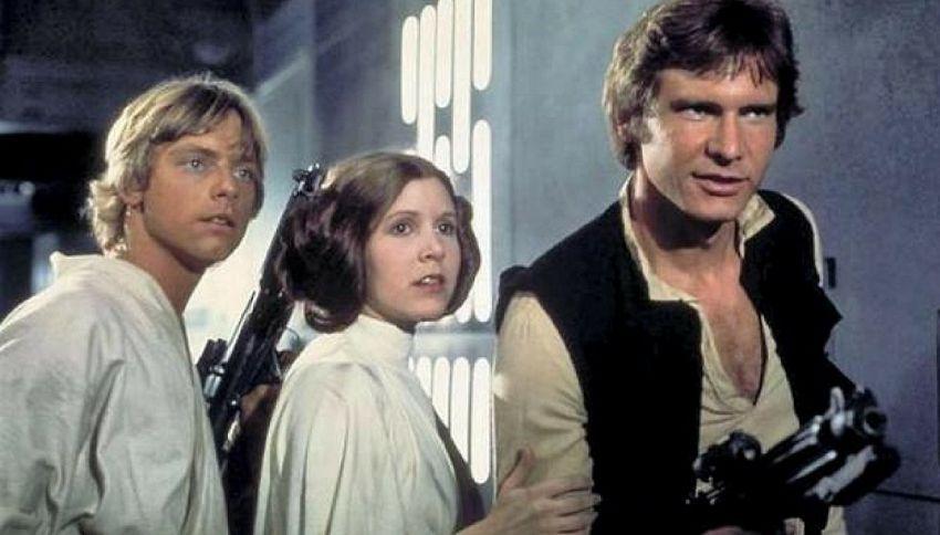William e Harry d'Inghilterra attori in Star Wars