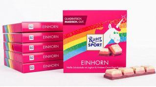 Ecco il nuovo cioccolato al gusto unicorno in edizione limitata