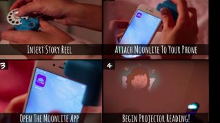 Moonlite, l'iPhone proietta le favole della buona notte