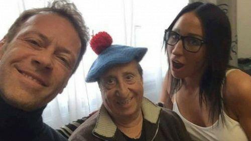 Alvaro Vitali gira un film con Rocco Siffredi