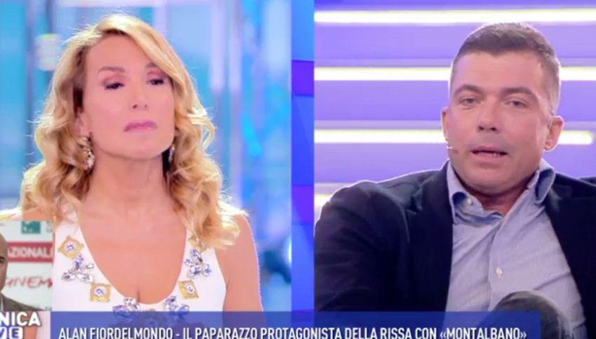 Barbara D'Urso perde le staffe in diretta a Domenica Live