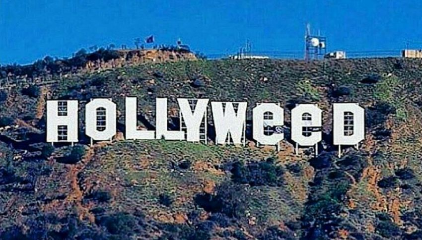 Hollywood diventa Hollyweed per la legalizzazione della marijuana