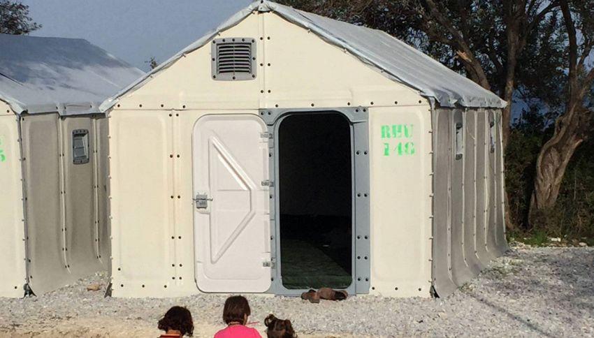 La casetta Ikea per i rifugiati: ecco come è fatta