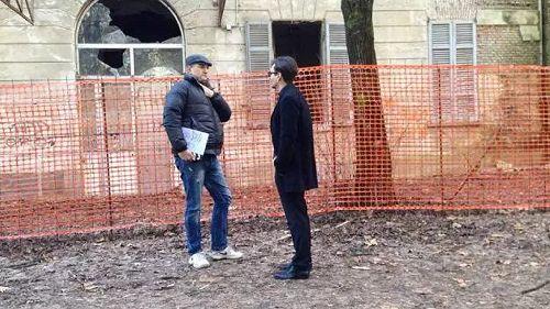 Johnny Depp sta girando un film a Limbiate