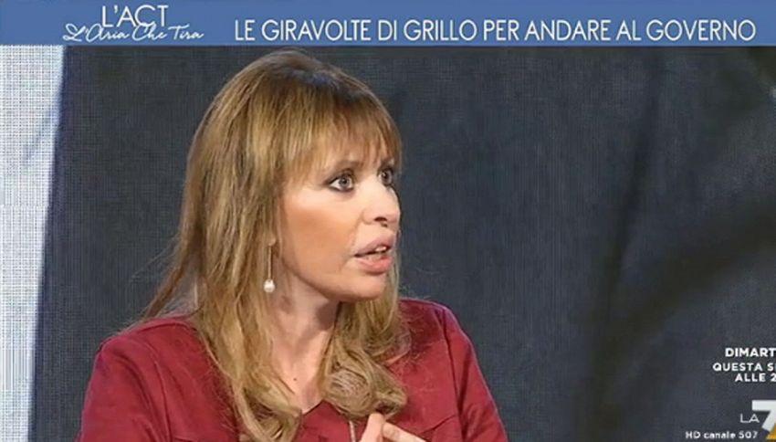 Dichiarazione choc di Alessandra Mussolini in diretta tv