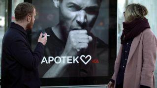 Geniale pubblicità 'salutista': se fumi, il cartellone tossisce