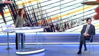 Terremoto in diretta, Paola Saluzzi non interrompe il programma