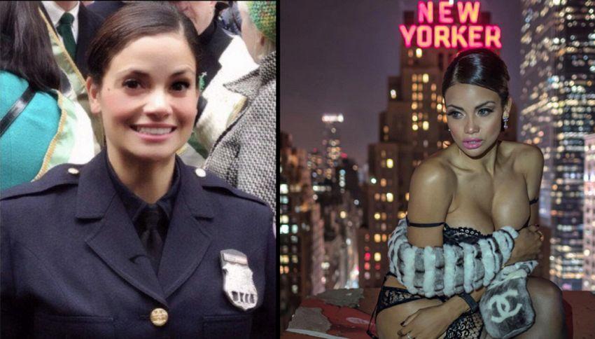Arrestami! La sexy poliziotta che spopola su Instagram