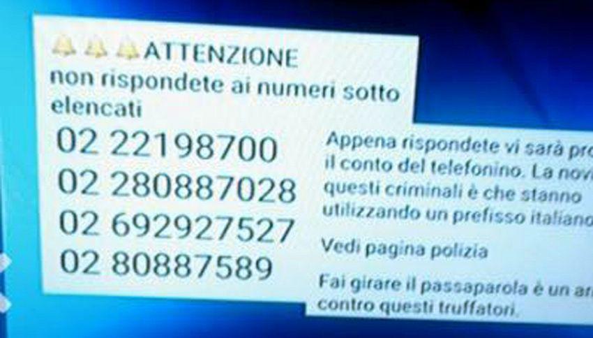 Occhio alle telefonate truffa: ora anche con 'prefissi italiani'