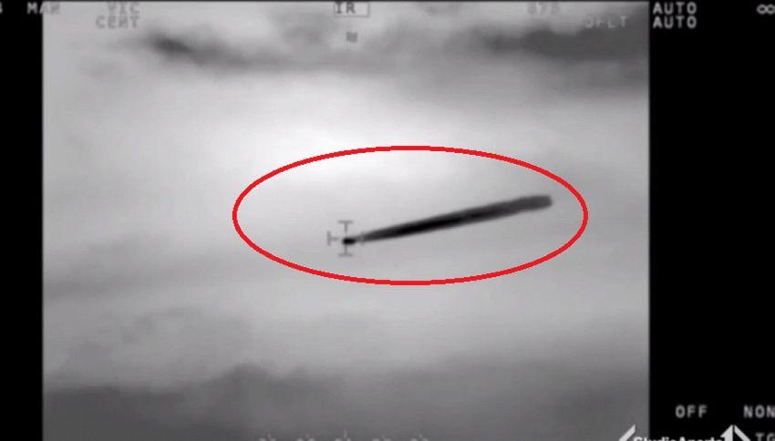 Marina Cilena divulga filmato autentico di un Ufo