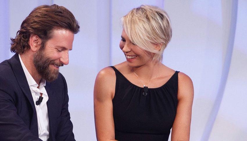 """Bradley Cooper a C'è Posta per te: """"Mio nonno era di Napoli"""""""