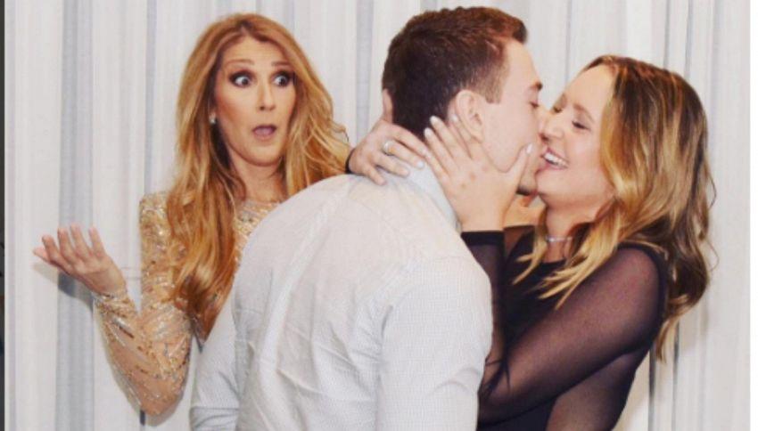 Sorpresa Celine Dion: la proposta di matrimonio è davanti a lei!