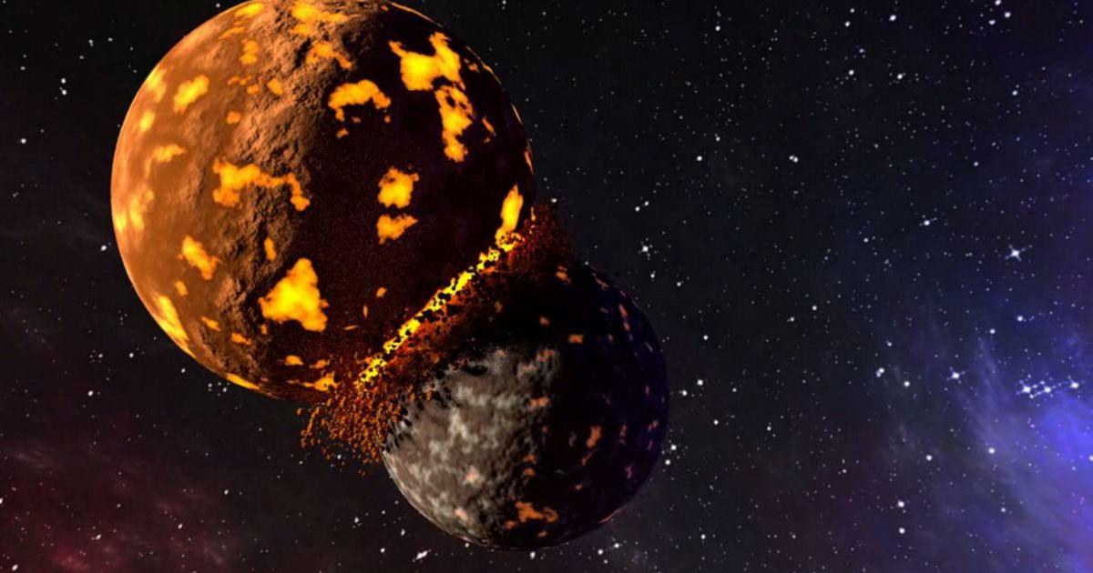 La terra e la luna sono in rotta di collisione supereva for Avere una casa costruita sulla terra