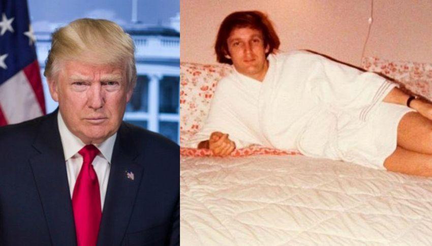 Trump e il mistero dell'accappatoio