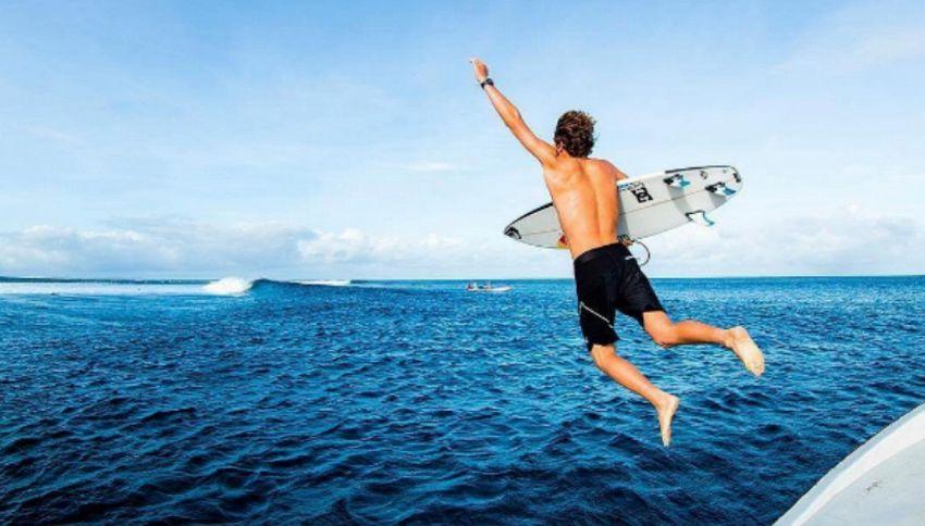 Chi è Leonardo Fioravanti, nuova stella del Surf Italiano