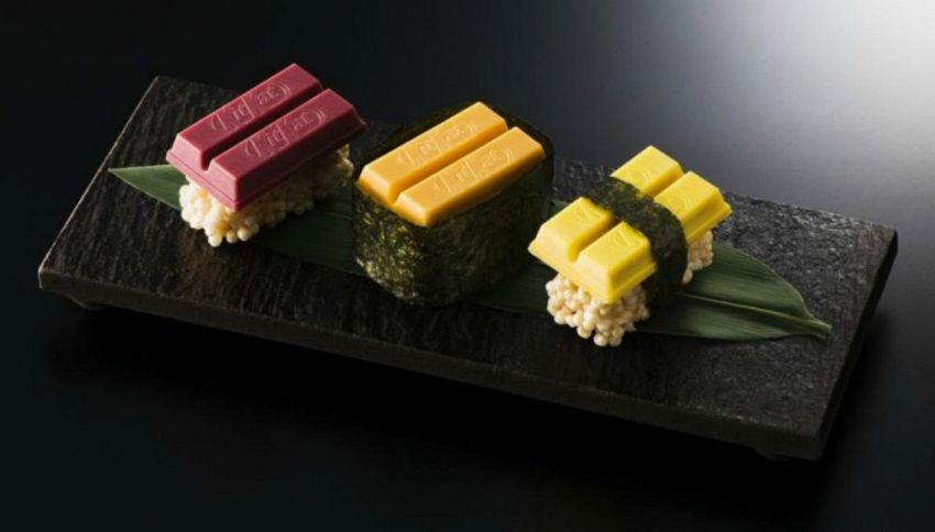 Pazzi di Sushi? Ora lo potete mangiare anche con il Kit Kat