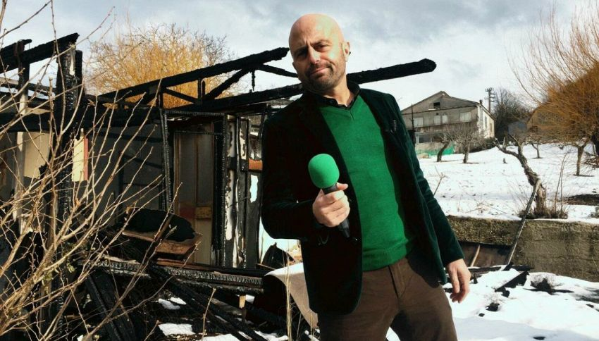 Luca Abete, inviato di Striscia, diventa professore universitario