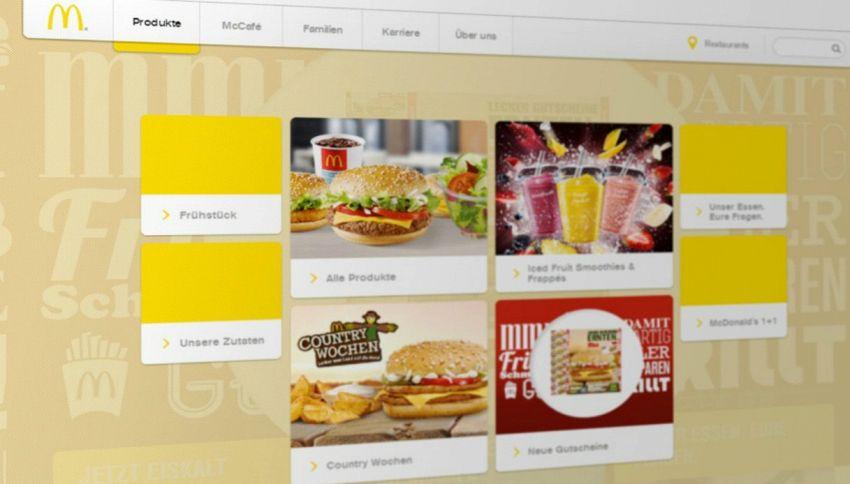 McDonald's inaugura i distributori di hamburger